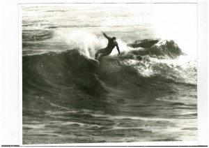 surfing right hander