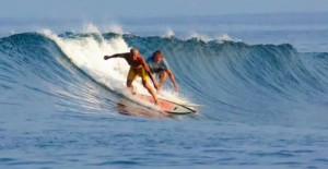 once dropping in was about sharing a wave with a friend